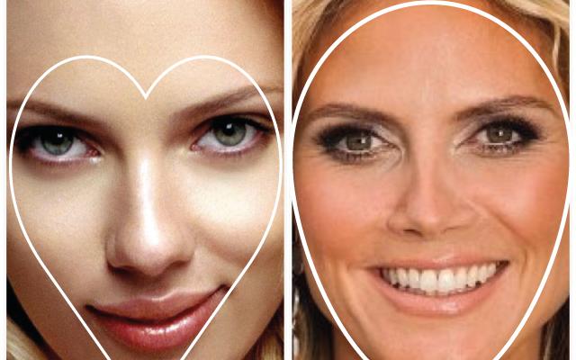 Yüzünüzün güzellik üçgeni (HeArt of face) tersine dönmesin…..